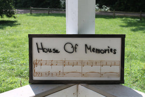 Your Handwriting, Actual Hand Writing Sign, Music Sign, Your Favorite Song, Music, Custom, 3D, Engraved. Wood Sign, Personalize