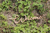 Wood Welcome, Welcome Sign, Welcome, Welcome Cutout,  Welcome DIY, Wood Word, Craft, Laser Cut Wood Word, Wooden, Decor, Birch