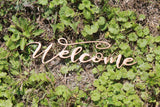 Welcome Wood, Welcome Cutout, Welcome Sign, Welcome Wall Hanging, Welcome DIY, Wood Word, Laser Cut Wood Word, Wooden, Decor, Wreath, Birch