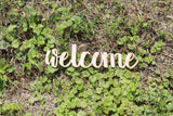 Do it Yourself, Welcome Sign, Welcome, Welcome Cutout, Welcome Sign, Welcome DIY, Wood Word, Laser Cut Wood Word, Wooden, Decor, Birch