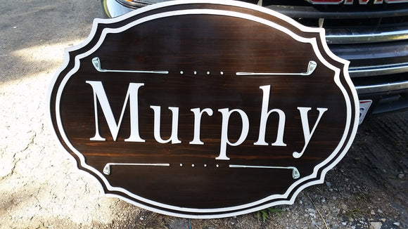 Large Custom Golf Sign, Putter, Golf Club, Business Logo, Wood, Laser Cut Out, 3D, Extra Large, Outdoor Footstepsinthepast
