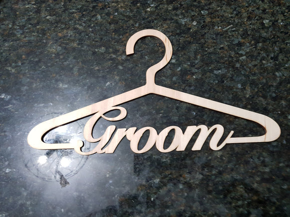 Wedding hanger,groom hanger,wedding suit hanger,bridal hanger,wedding hanger personalized,wedding hanger groom, wood, birch, laser cut out
