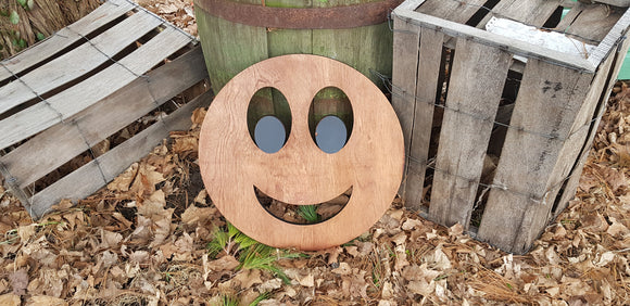 Happy Face, Smiley Face, Large Wooden, Sign, Large,  Party Sign, 3D, Wood, Your Words, Custom, Wooden Words, Laser Cut Out, Wood Cut Out
