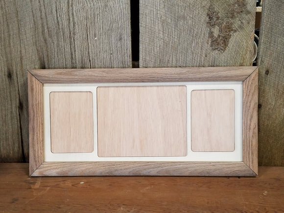 Farmhouse, 8x10, 5x7, College, Picture Frame, Mat, Mat-board, Wood,, Weathered Oak, Handmade, Country, Rustic, Primitive, Multiple