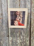 Photo on Wood Custom Your Photo Printed Shelf Sitter Personalized Custom Gift Idea Wood Print Wood Photo Home Decor USA