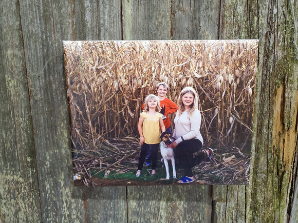 Photo on Canvas Custom Your Photo Custom Picture Family Photos Printed Large Personalized Custom Gift Idea Print Photo Home Decor USA
