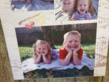 Photo Collage Family Photo Photos on Canvas Custom Your Custom Picture Photos Printed Large Personalized Gift Idea Print Photo Home Decor