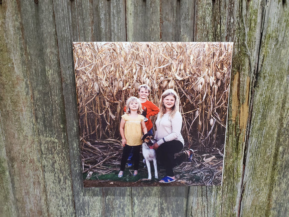 Photo on  Square Canvas Custom Your Photo Custom Picture Family Photos Printed Large Personalized Gift Idea Print Photo Home Decor USA