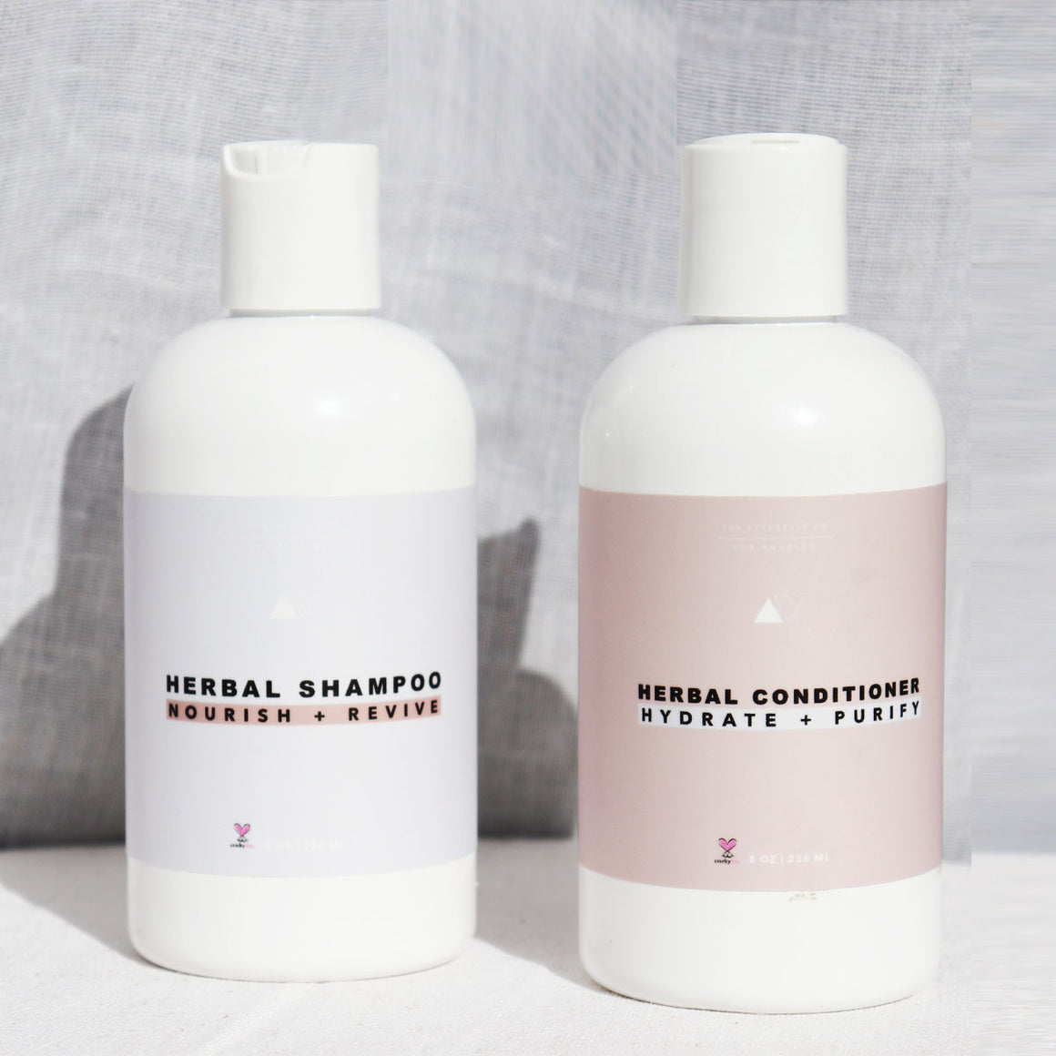 The Lyfestyle Co. Herbal Shampoo + Conditioner Bundle