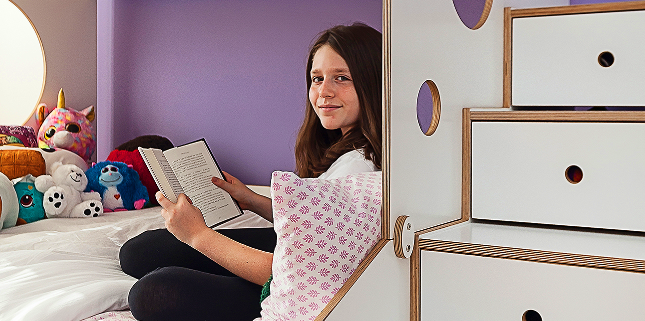 Designing a Kid's Room: The Book Lover: 4 Elements To Include