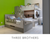 CASA KIDS GREY BUNK BEDS