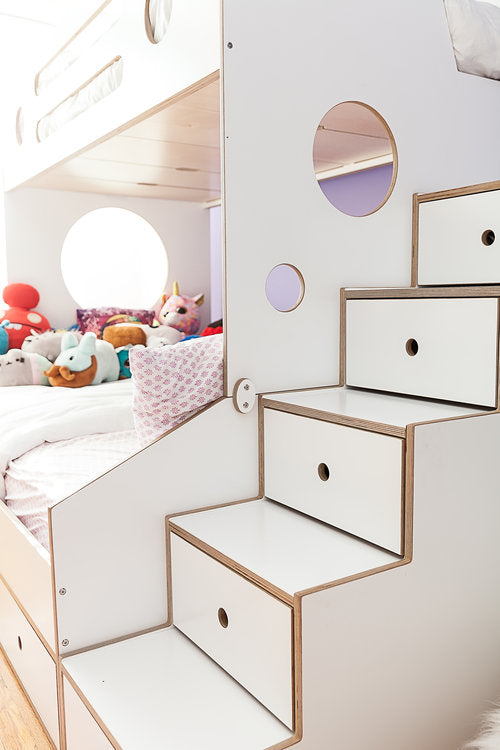 Casa kids storage stairs