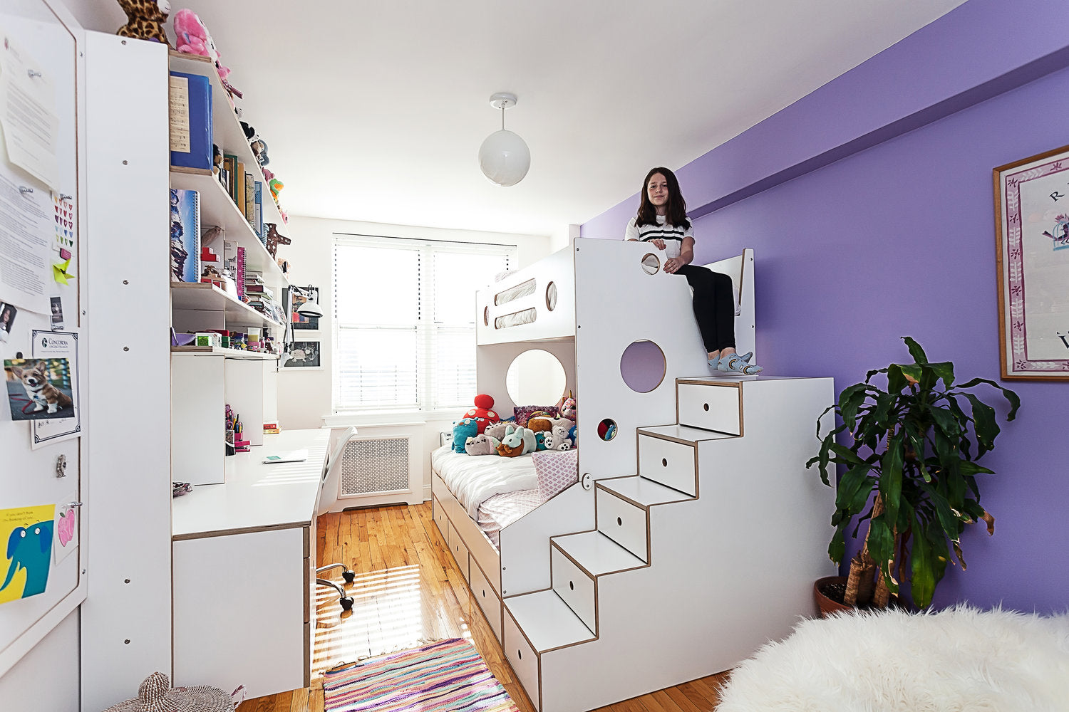 casa kids white bedroom