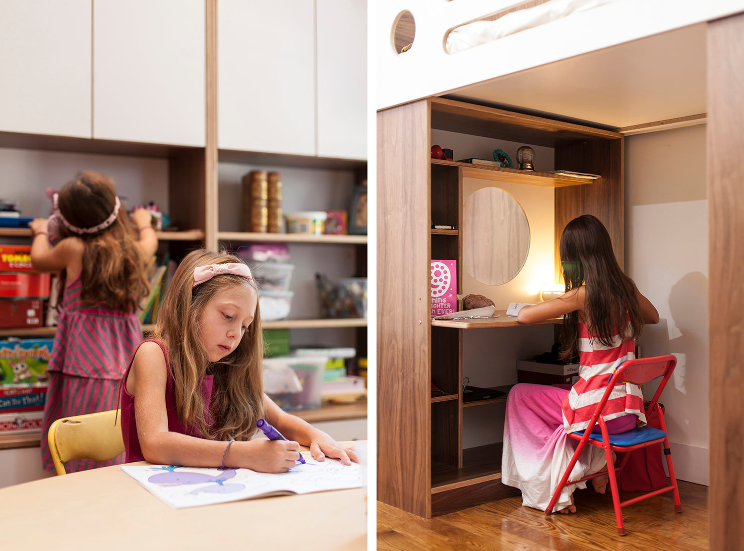 Three Kids In One Room Ideas Bunk Beds For Sisters