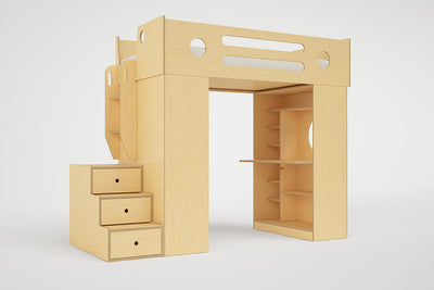 Dumbo Loft Bed Low
