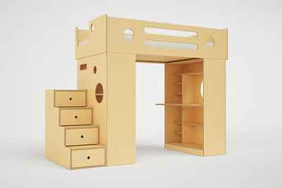 Dumbo Loft Bed with Stairs