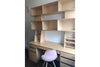 Custom Desk with Storage