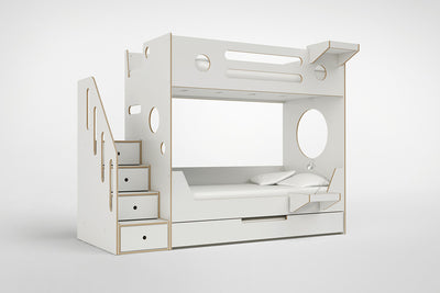 Marino Bunk Bed with Stairs