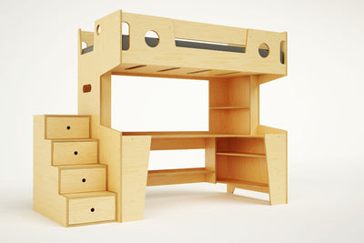 Marino Loft Bed with Stairs