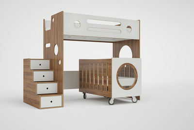 Marino Bunk Bed over Crib