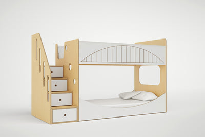 miniBUNK: Bridge with Stairs