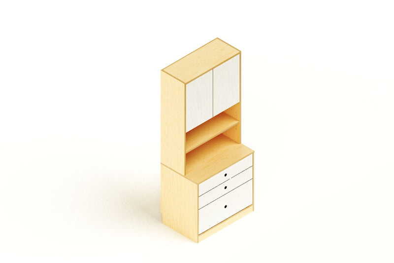 Modulor Storage w/ Drawers