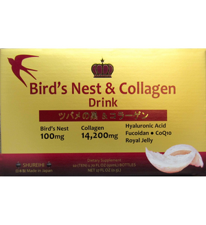 Bird's Nest and Collagen Drink