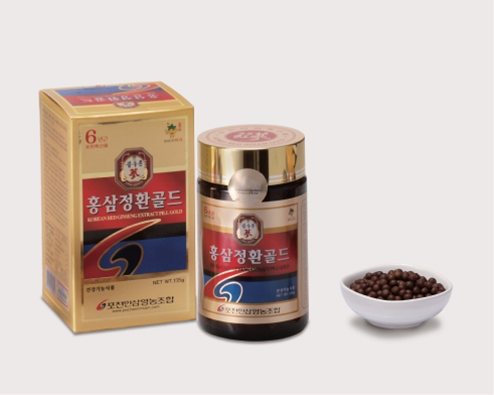 POCHEON INSAM RED GINSENG EXTRACT PILL GOLD