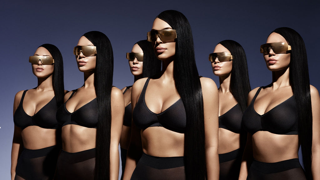 Kim Kardashian West's Carolina Lemke Sunglasses Collection Was Made With Her Sisters In Mind - by Bustle
