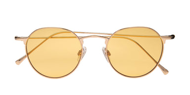FRAME Gold LENS Yellow