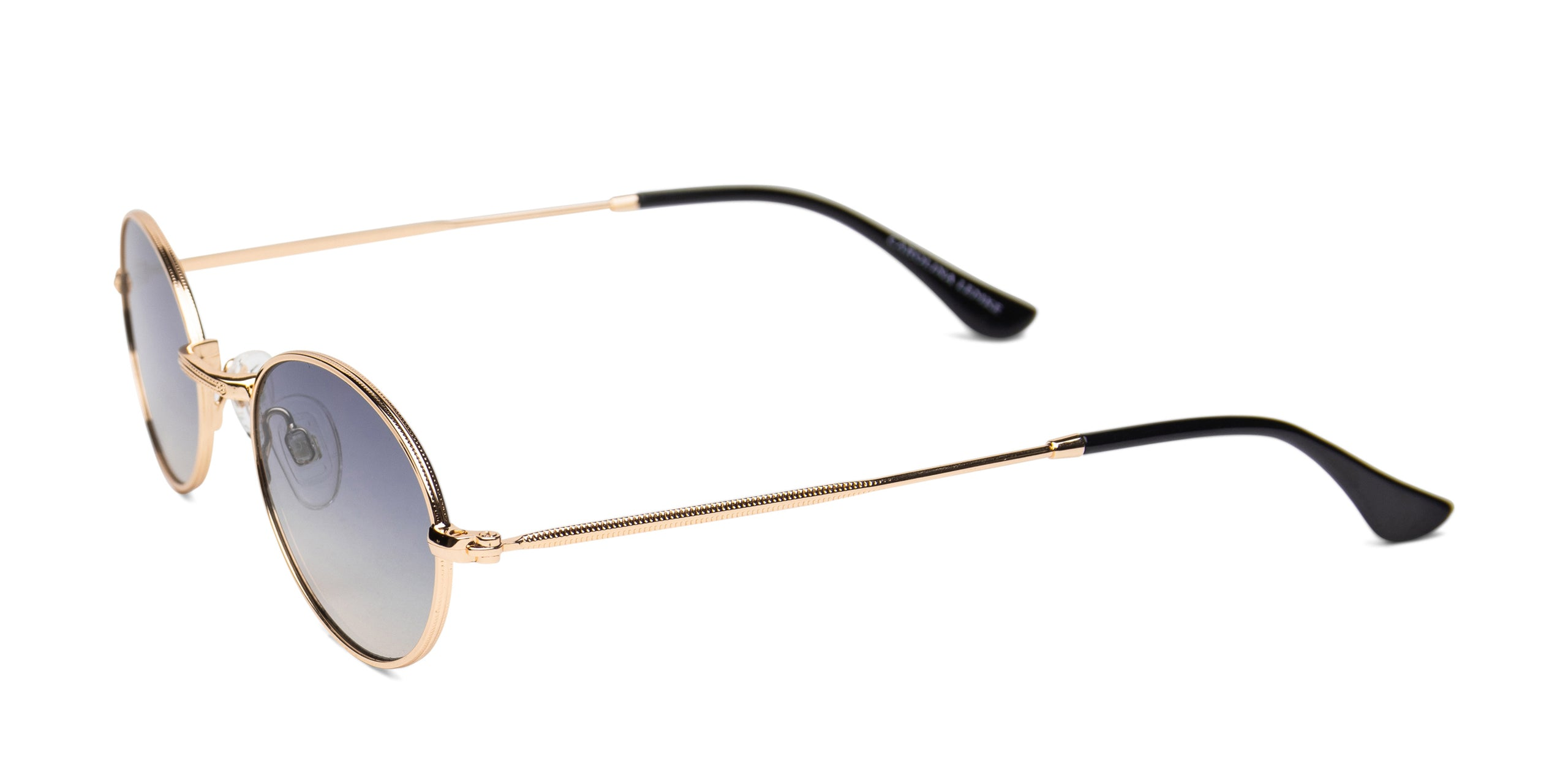 FRAME Shiny Light Gold LENS Gradient Yellow