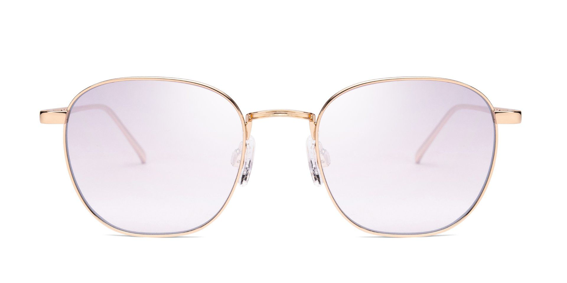 FRAME Shiny Light Gold LENS Gradient Silver Taupe