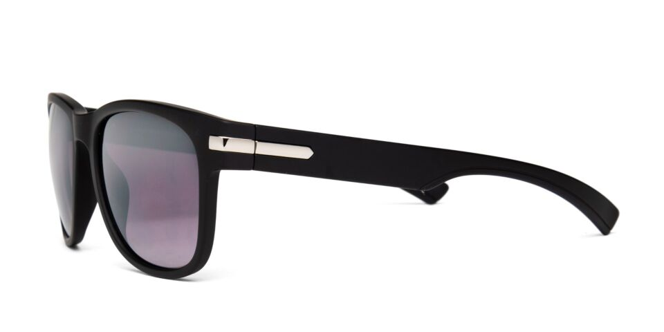 FRAME Matt Black with Silver LENS Gradient Smoke