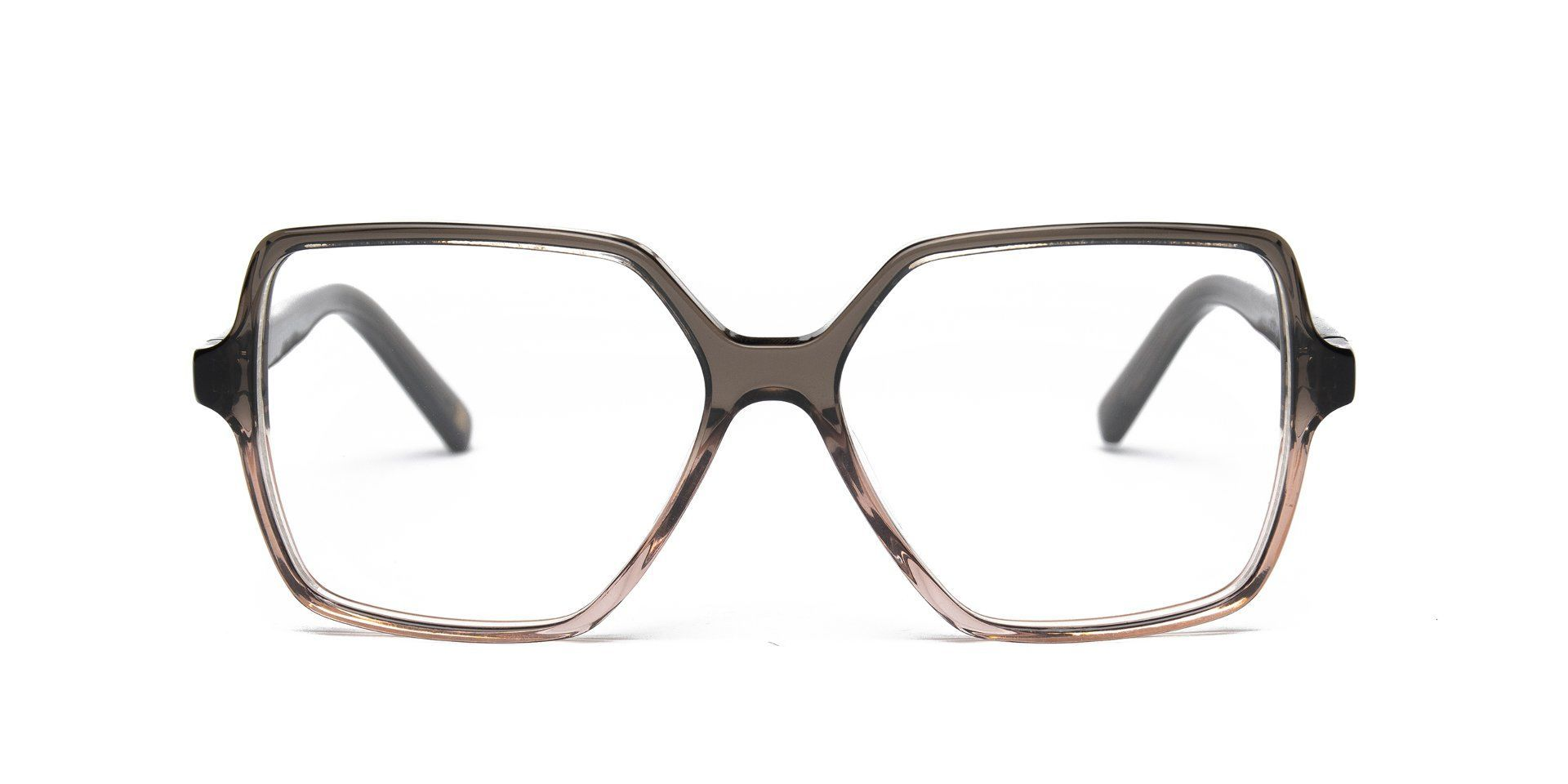 FRAME Dark Grey Transparent Pink