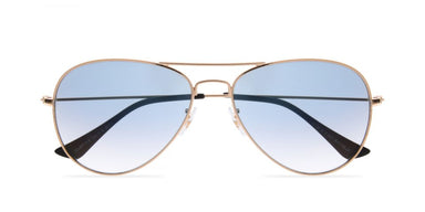 FRAME Gold LENS Light Blue