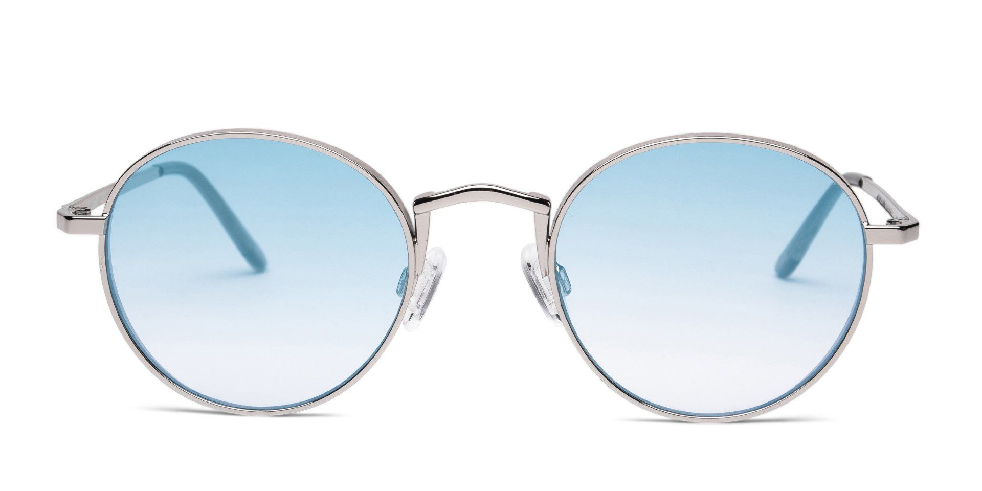 FRAME Silver LENS Gradient Turquoise