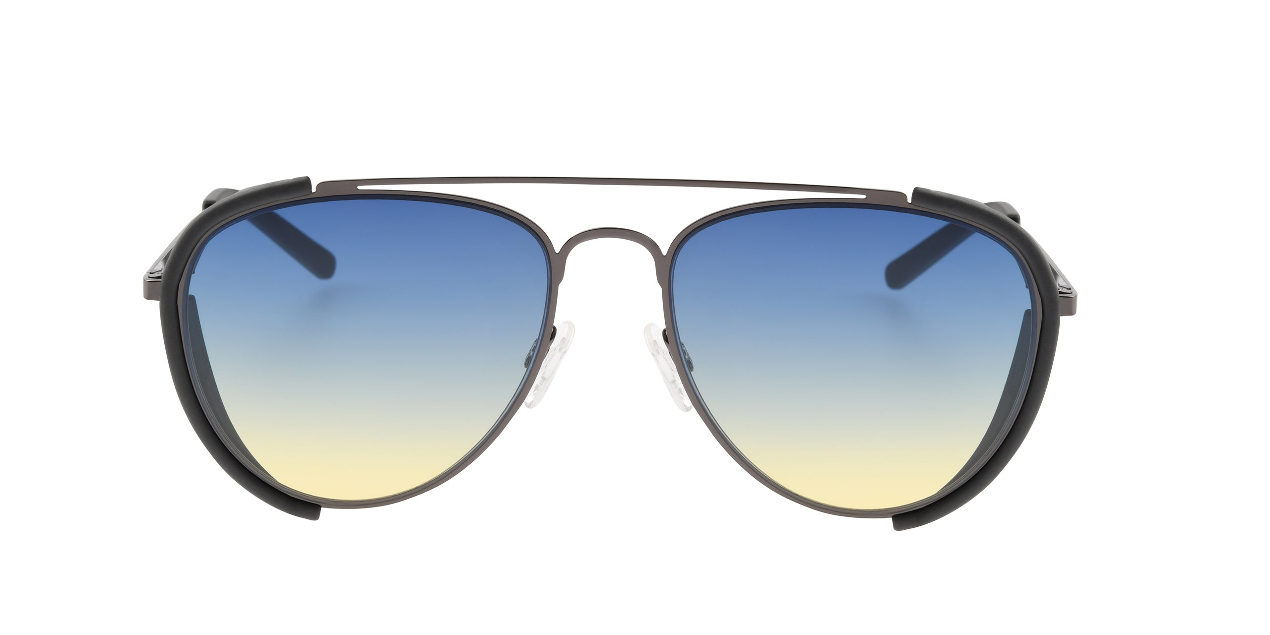 FRAME Gunmetal LENS Blue to Yellow
