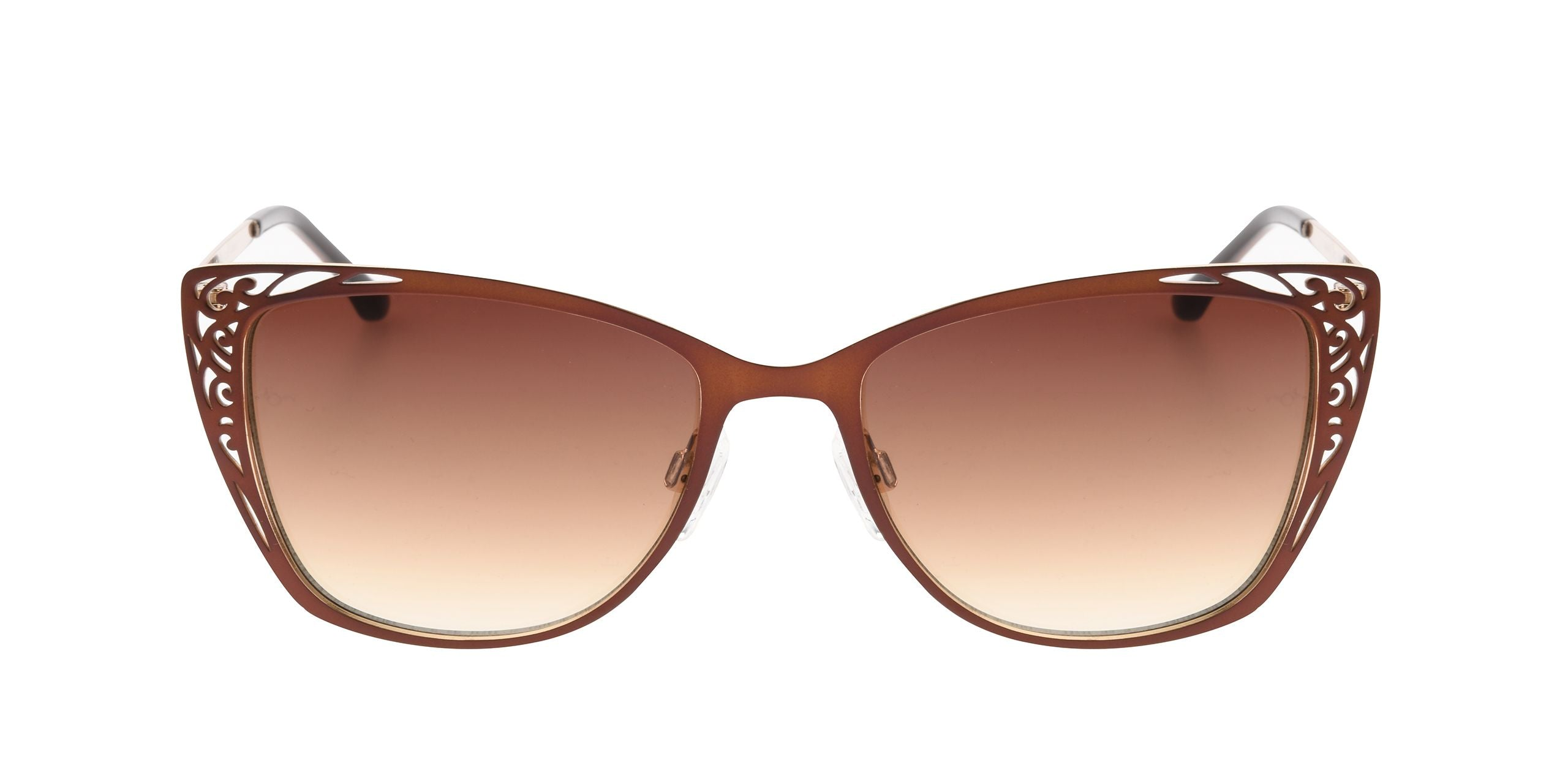 FRAME Coffee Gold LENS Gradient Brown