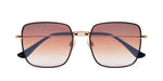 FRAME Black Gold LENS Gradient Brown