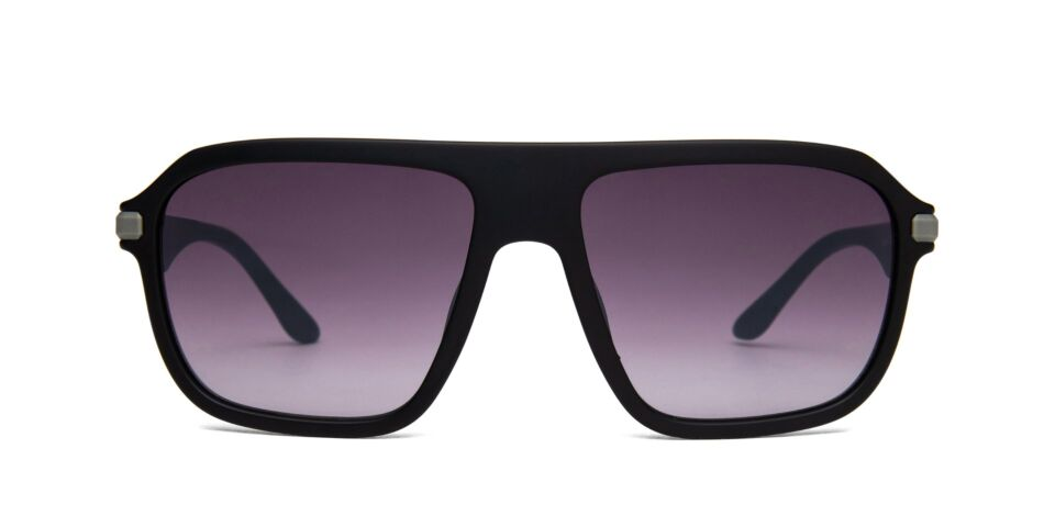 FRAME Matt Black LENS Gradient Smoke