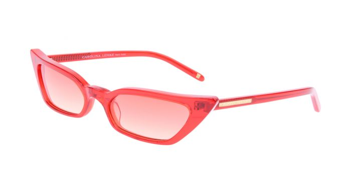 FRAME Transparent Red LENS Sunset