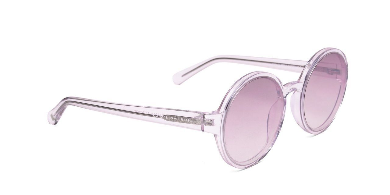 FRAME Transparent LENS Gradient Silver Taupe