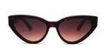 FRAME Tortoise Shell LENS Gradient Brown