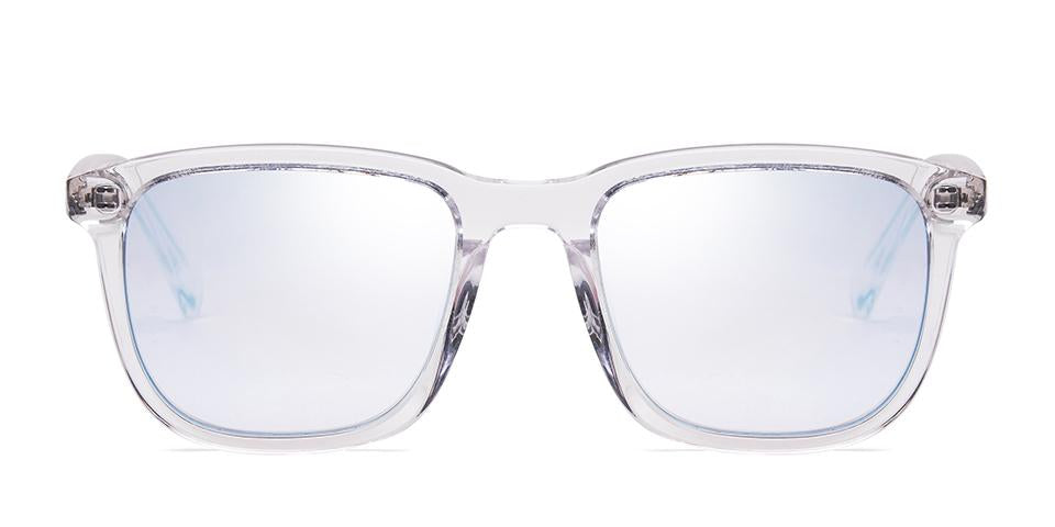 FRAME Transparent LENS Blue Mirror