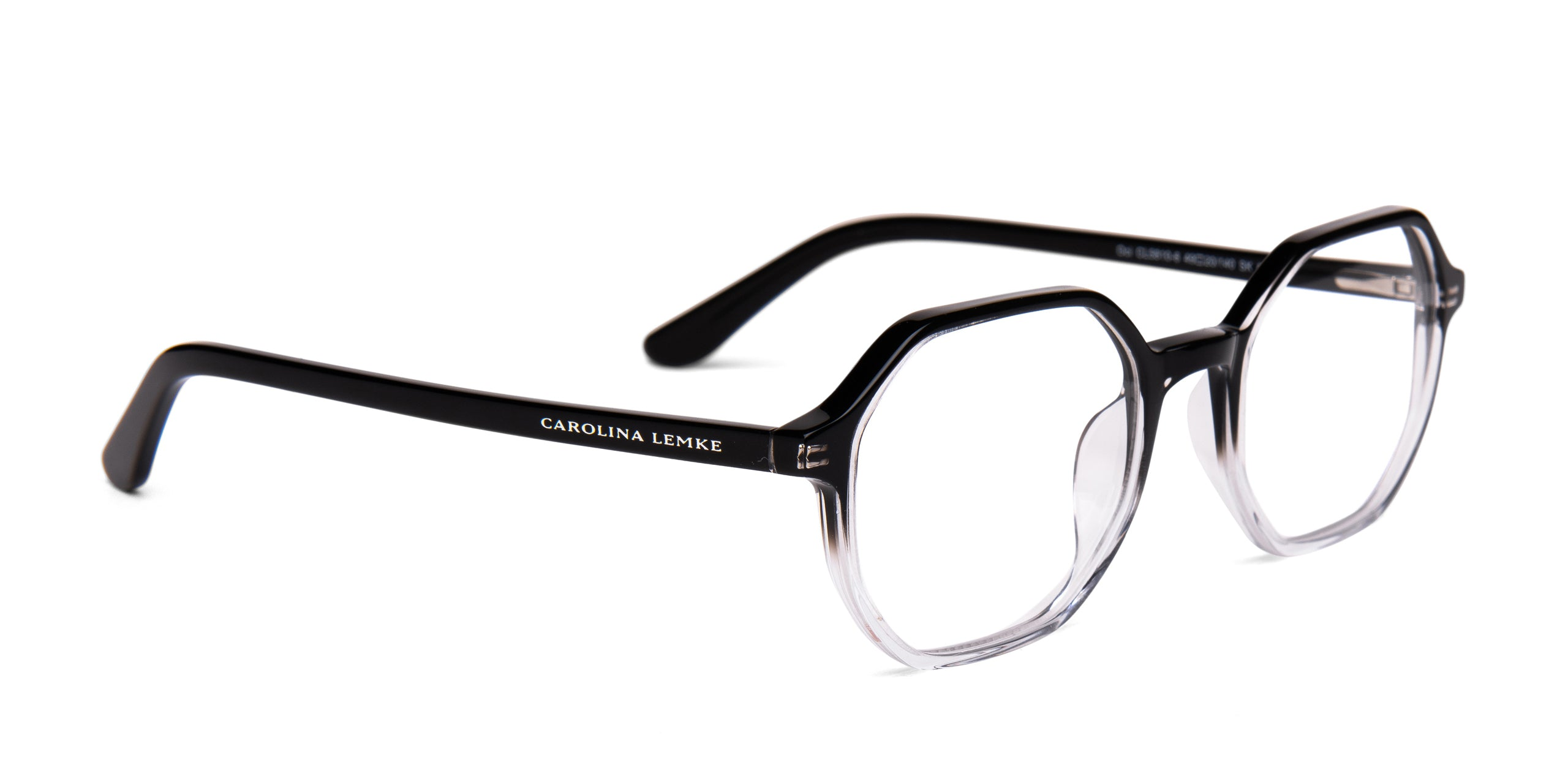 FRAME Transparent Black