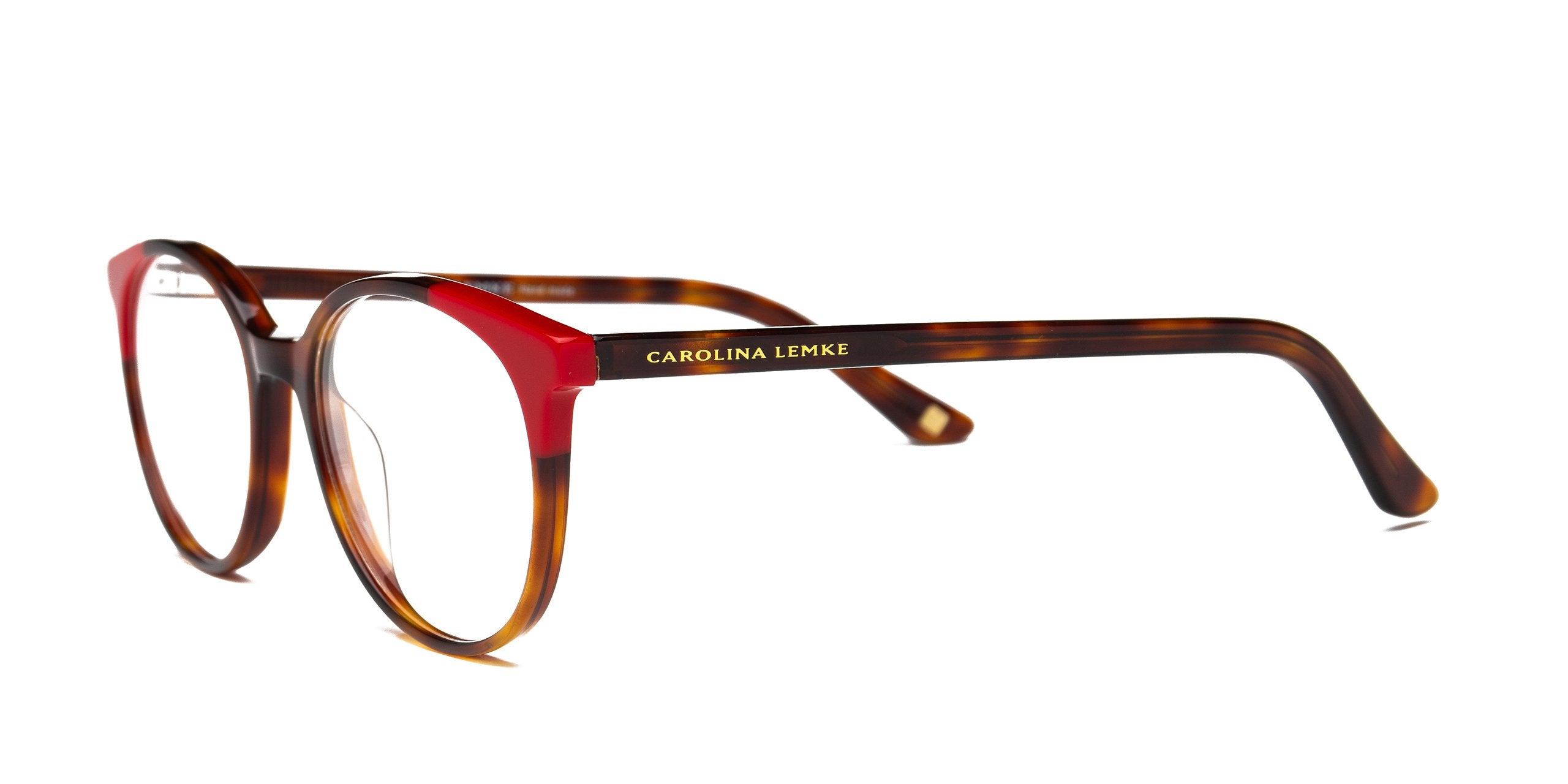 FRAME Tortoise Shell & Red