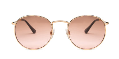 FRAME Gold LENS Brown to Pink