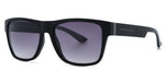 FRAME Matt Black Grey LENS Gradient Smoke