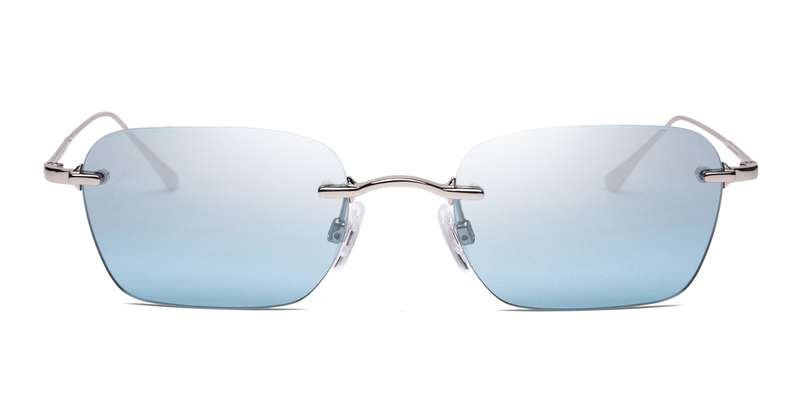 FRAME Silver LENS Gradient Silver to Blue