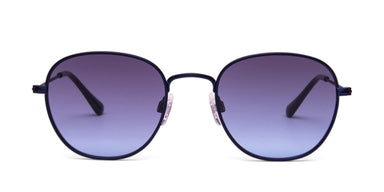 FRAME Matt Metallic Blue LENS Smoke to Blue